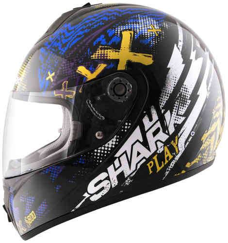 Shark S600 Play Negro/Azul