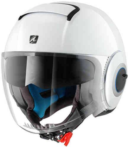 Shark Nano Casco Jet Blanco