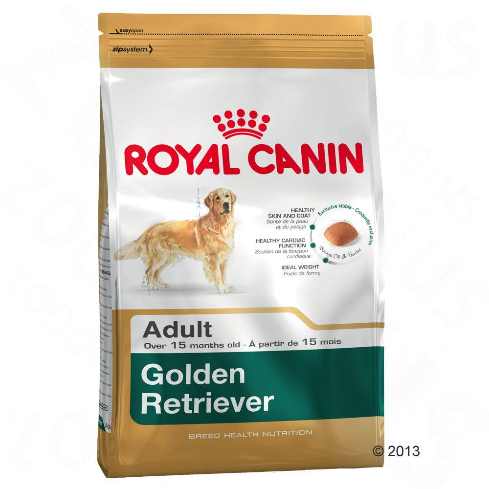 Royal Canin 12 + 2 kg gratis Golden Retriever Adult Royal Canin pienso para perros