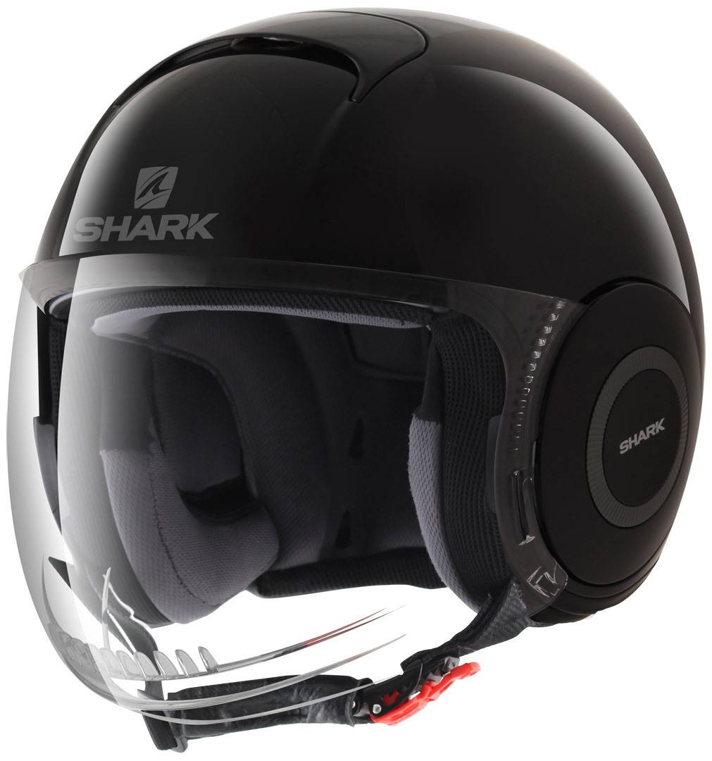 Shark Micro Casco Negro M (57/58)