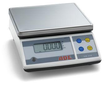 Báscula veterinaria digital de plataforma para pequeños animales ADE peso máximo 3kg / graduación 0,11gr - clase profesional