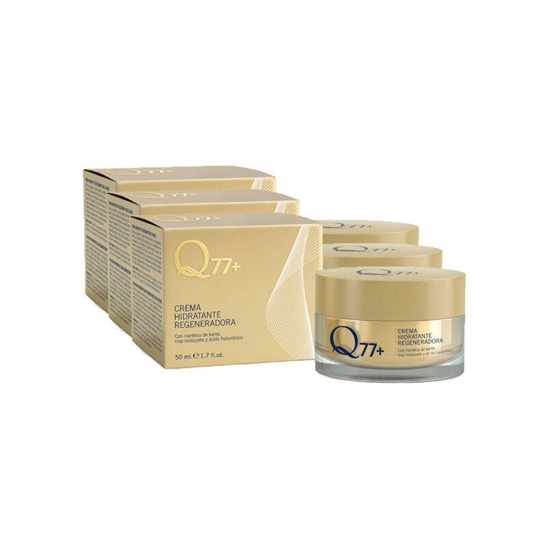 Q77+ Pack 3 x Crema Hidratante