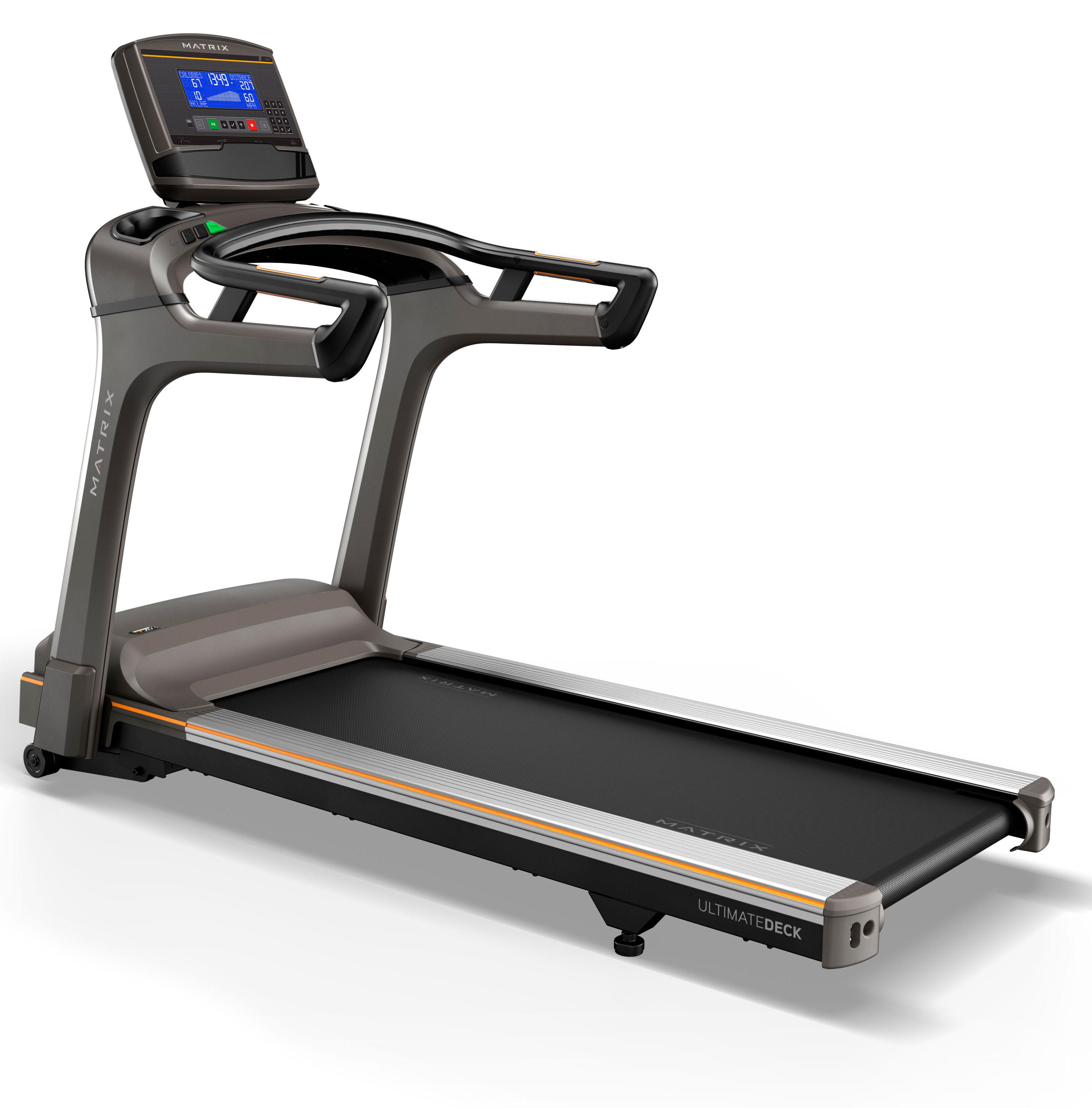 Cinta de correr Matrix Treadmill TF50: Experimenta un entreno natural con una superficie de carrera más larga