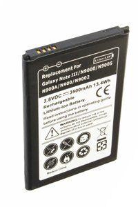 Samsung Galaxy Note 3 batería (3500 mAh, Negro)