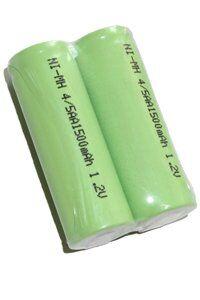 Oral-B 2x 4/5 AA batería con lengüetas de soldadura (1500 mAh, Recargable)