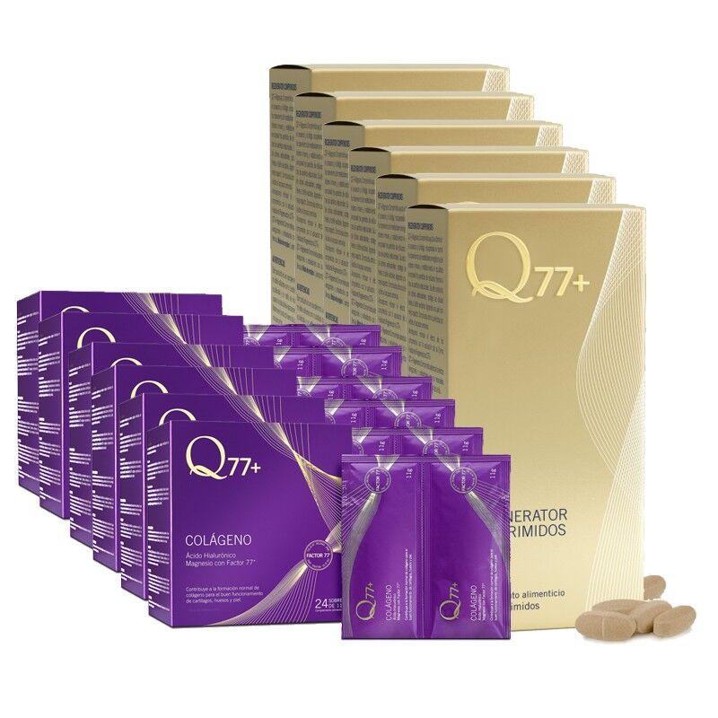 Q77+ Pack 6 Comprimidos + 6 Colágeno