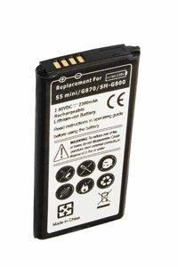 Samsung Galaxy S5 Mini batería (2300 mAh, Negro)