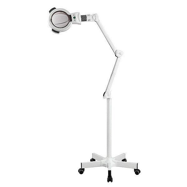 Lámpara Lupa Zoom LED de 5 Aumentos con Luz Fría (base rodable)