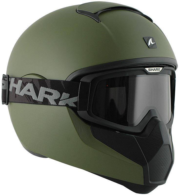 Shark Vancore Casco Verde Mate S (55/56)