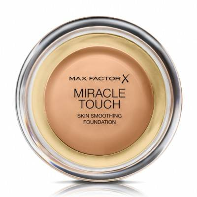 Max Factor Miracle Touch Base de Maquillaje 80, Bronce