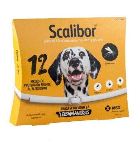 MSD Collar Scalibor 12 Meses Para Perros 65 Cm