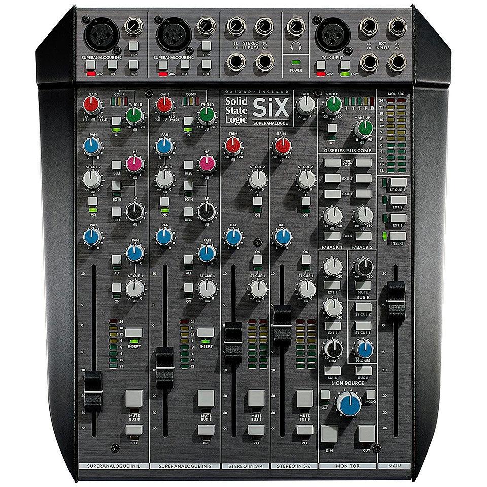 SSL SiX Mesa de mezclas