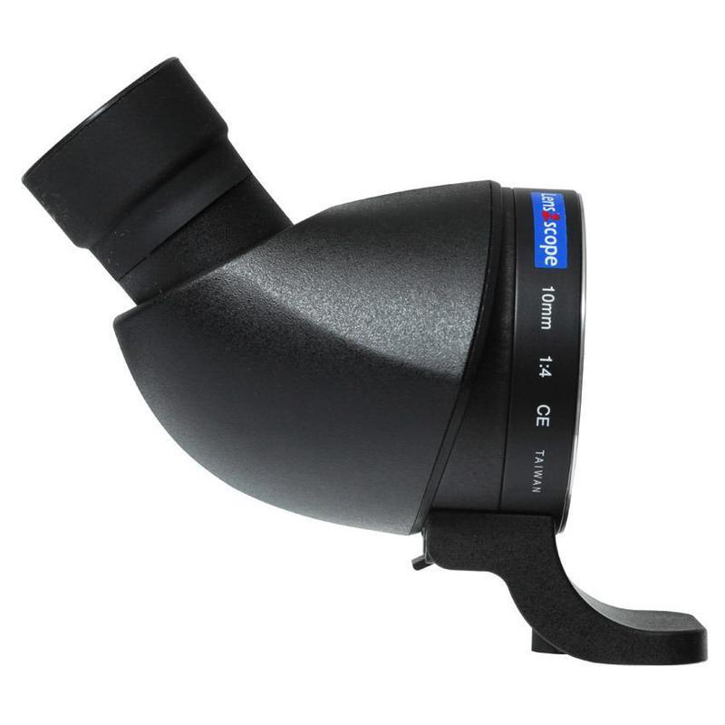 Lens2scope , para Pentax K, negro, visión angular