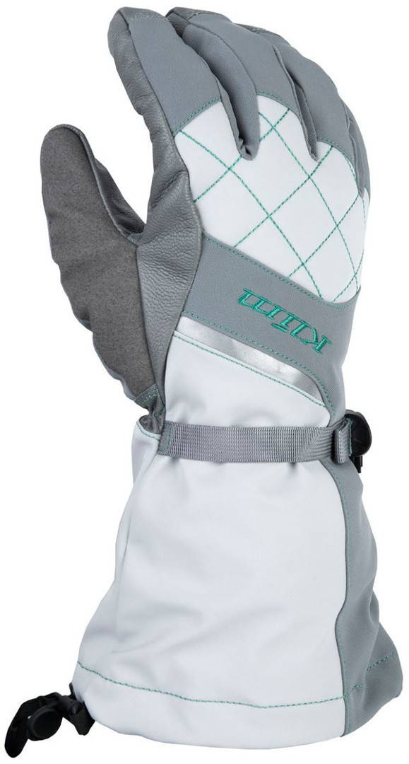 Klim Allure Snow  2017 Gris Blanco XL