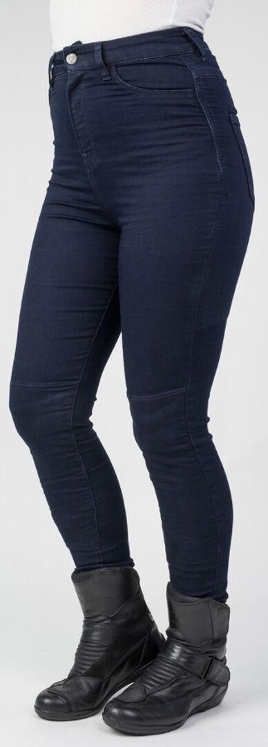 Bull-it Jeans Bull-it Fury Pantalones vaqueros de las señoras motos Azul 26