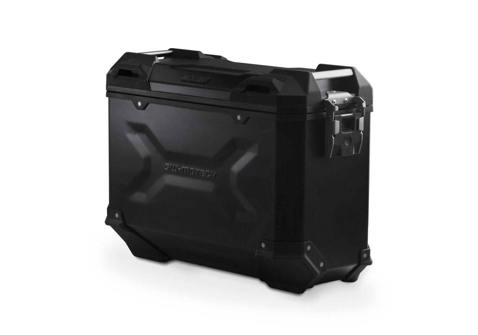 SW-Motech Maleta (Caja) de alumino TRAX ADV M - 37 l. Derecho. Negro.