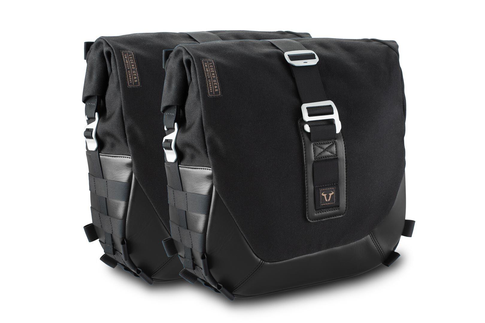 SW-Motech Legend Gear set de bolsas laterales Black Edition - Yamaha...
