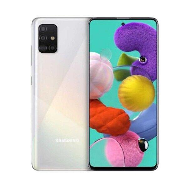 Samsung A515 Galaxy A51 4g 128gb 4gb Ram Dual-Sim White
