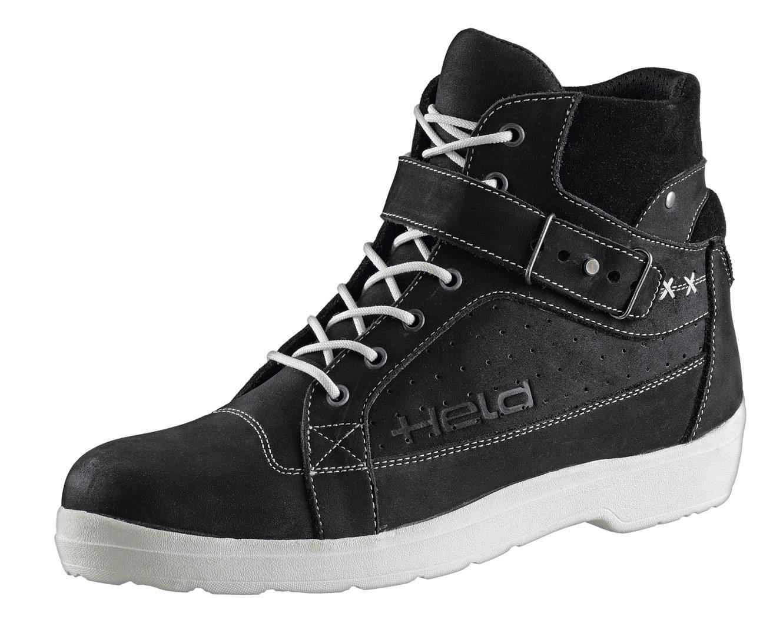 Held Lucero S Zapatos de motocicleta Negro 42