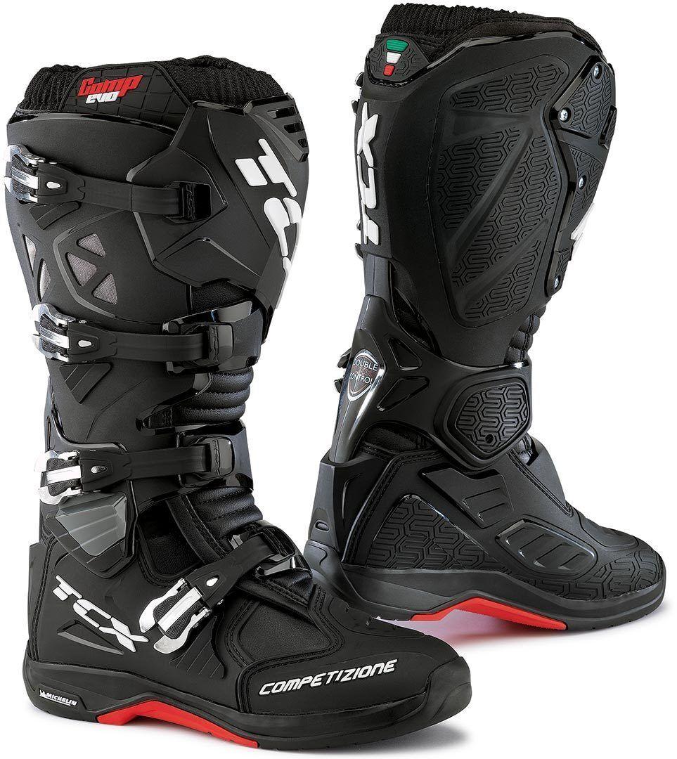 TCX Comp Evo Michelin Botas de Motocross Negro 39