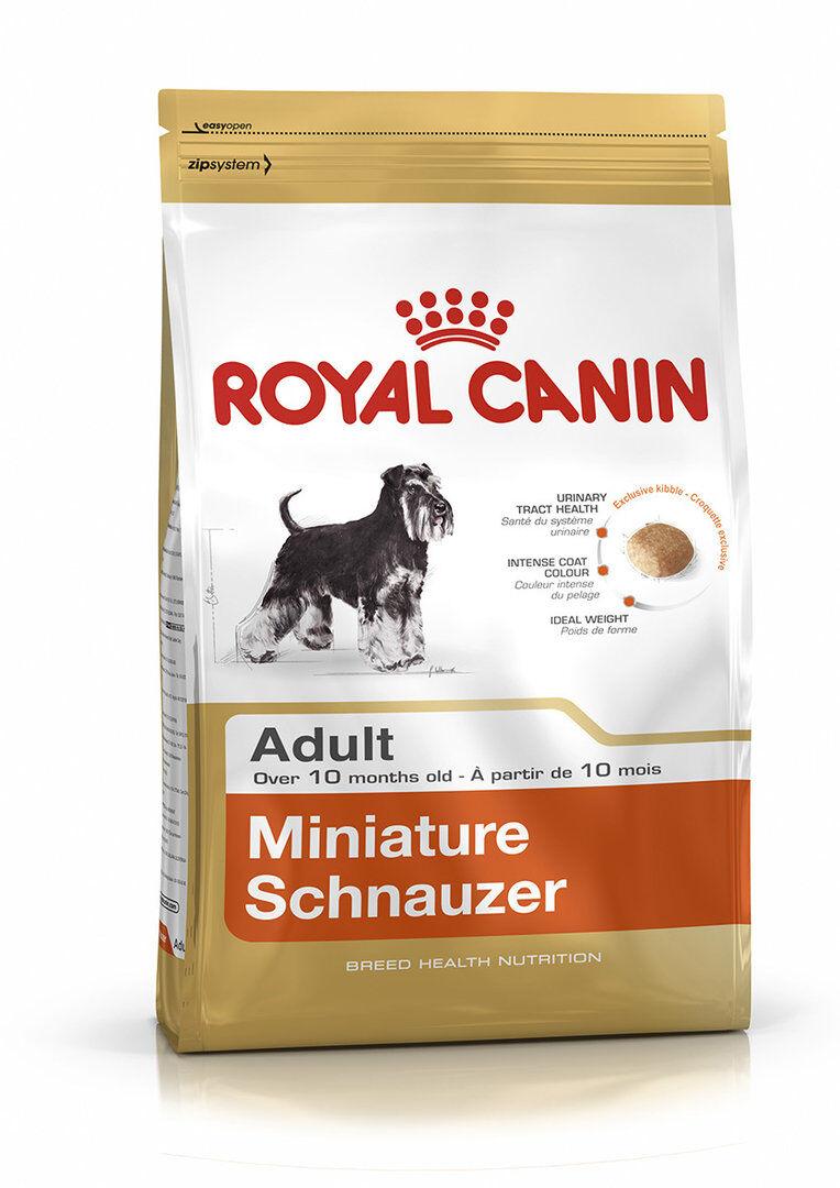 Royal Canin SCHNAUZER MINIATURA 25 ADULT 3 Kg.