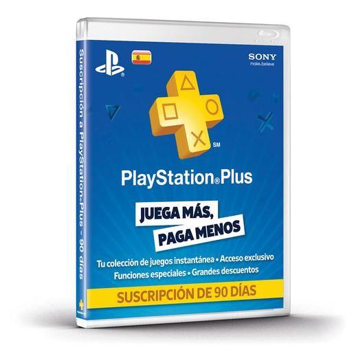 Sony PlayStation - Tarjeta PlayStation Plus 90 días