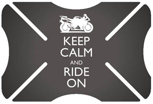 Oxford Ride On Parachoques del casco Negro