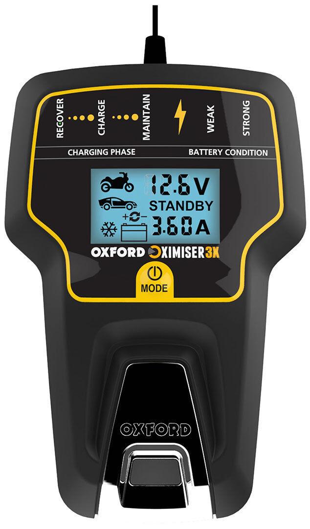 Oxford Oximiser 3X EU Cargador de batería