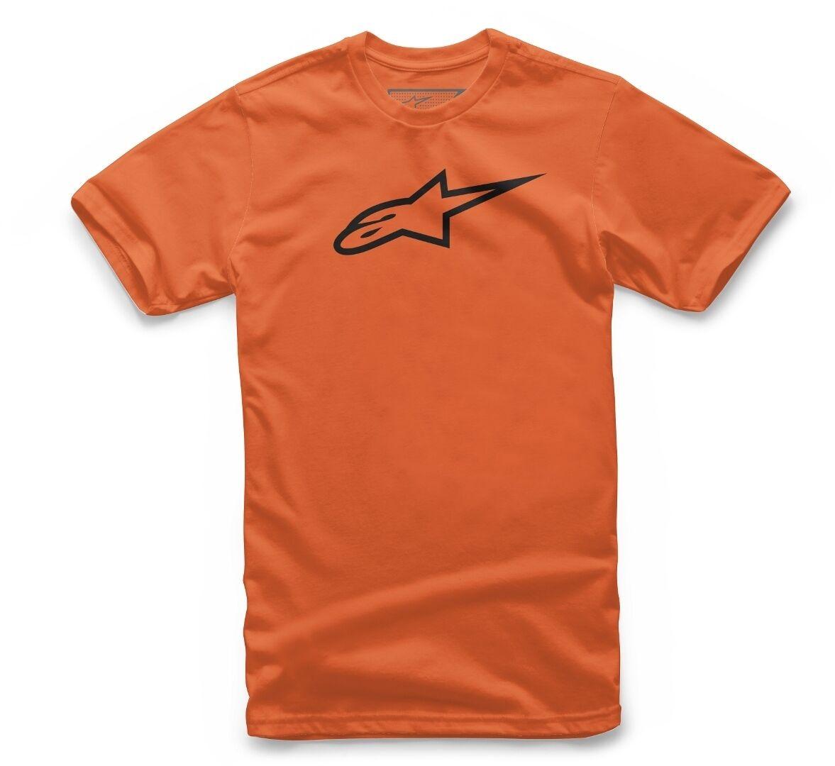 Alpinestars Ageless Tee Camiseta de niños Negro Naranja XL