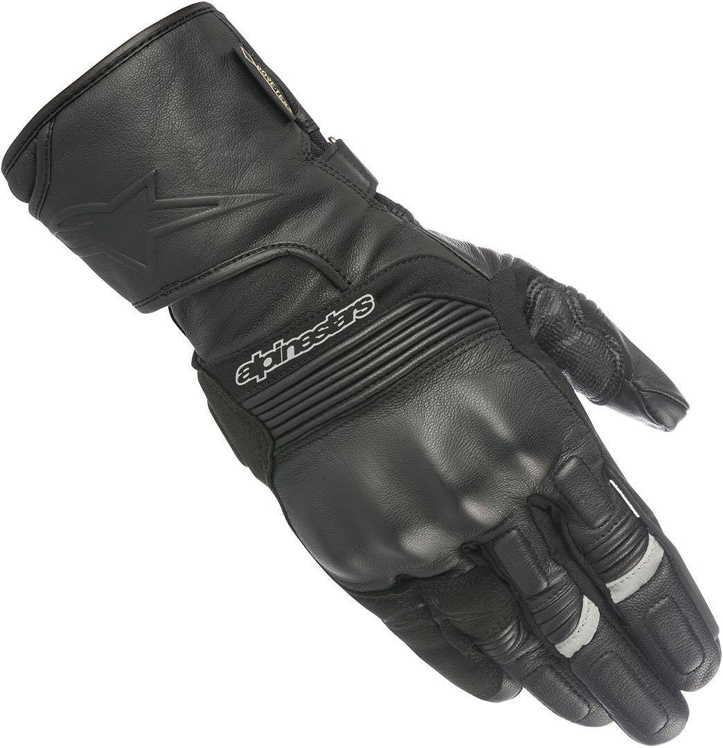 Alpinestars Patron Gore-Tex Guantes de la motocicleta Negro S