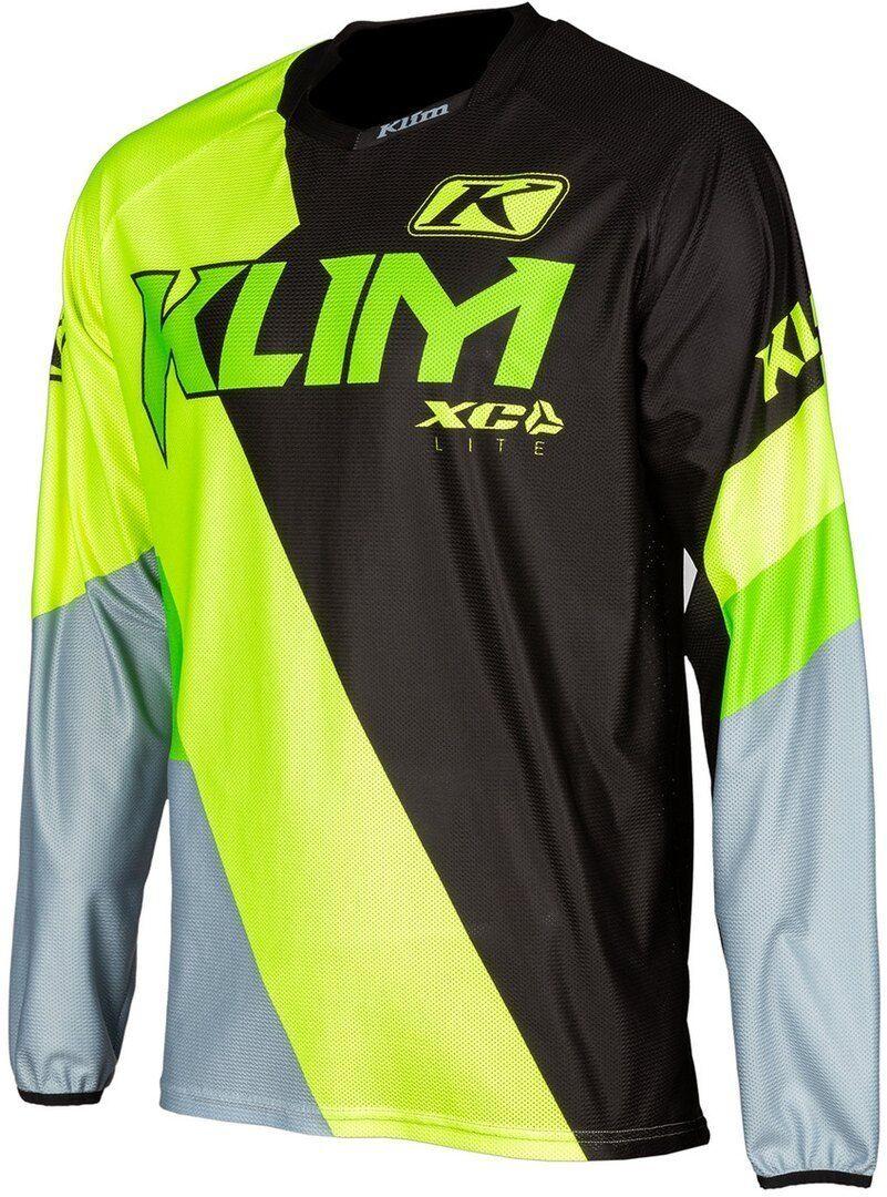 Klim XC Lite Motocross Jersey Negro Amarillo L
