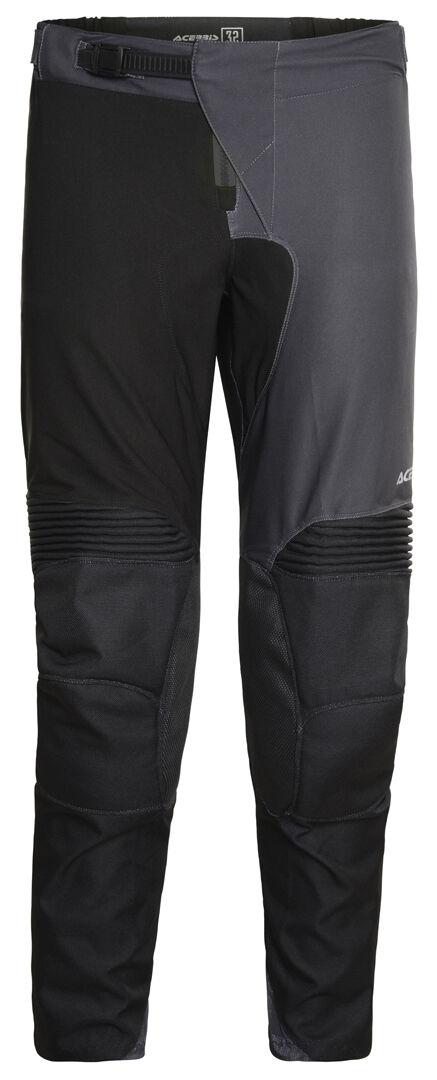 Acerbis One Pantalones de Motocross Negro Amarillo 30