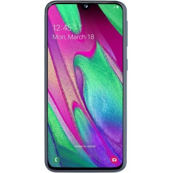 "Samsung Galaxy A40 SM-A405F 4+64GB 5.9"" Negro DS"