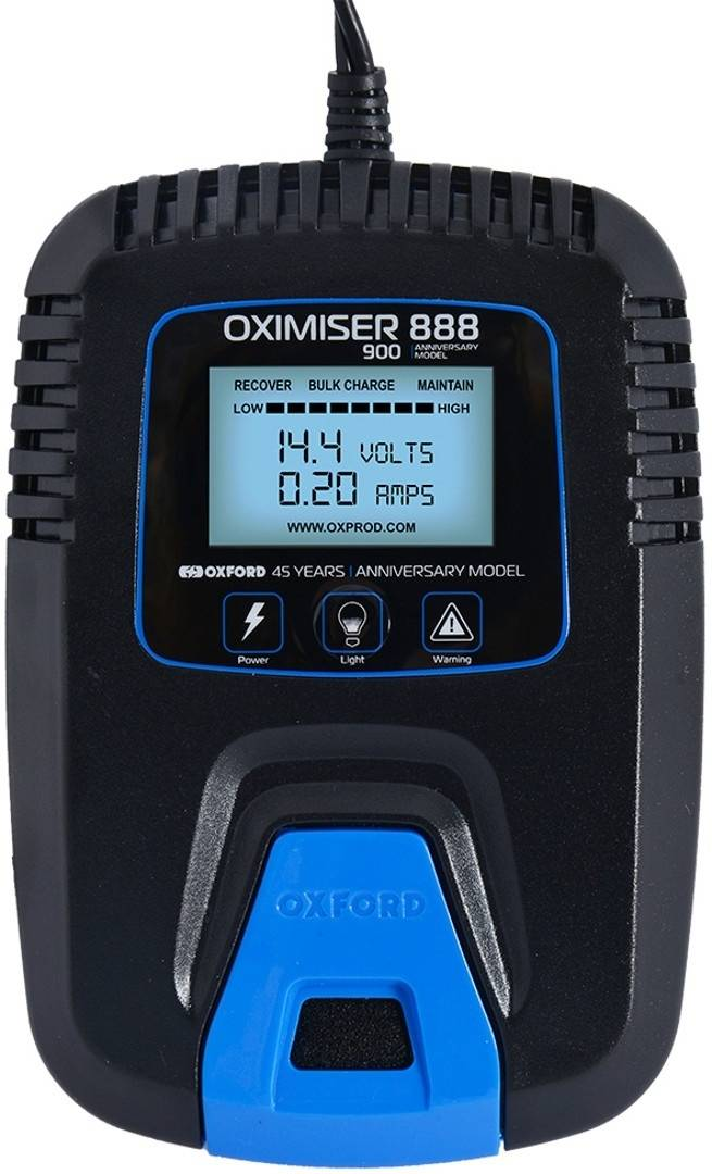 Oxford Oximiser 888 Cargador de batería de motocicleta
