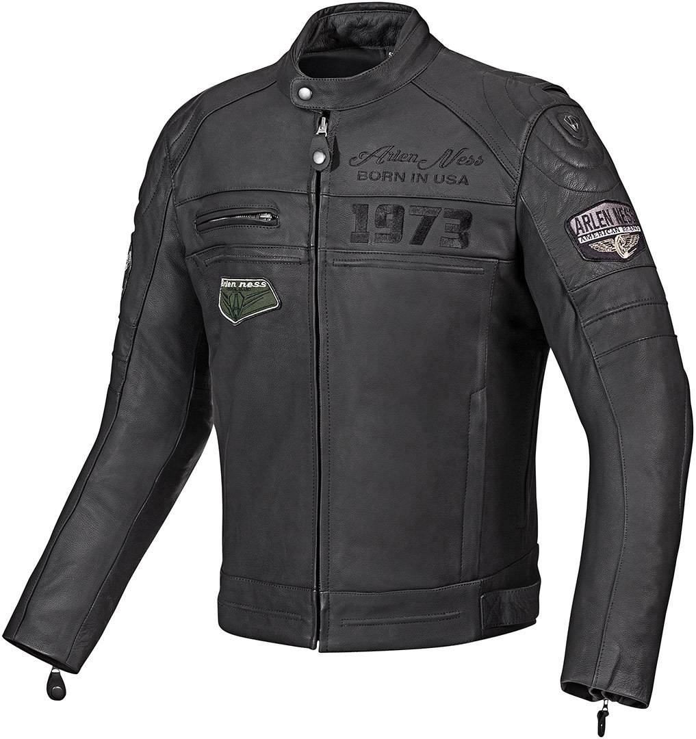 Arlen Ness New York Chaqueta de cuero moto