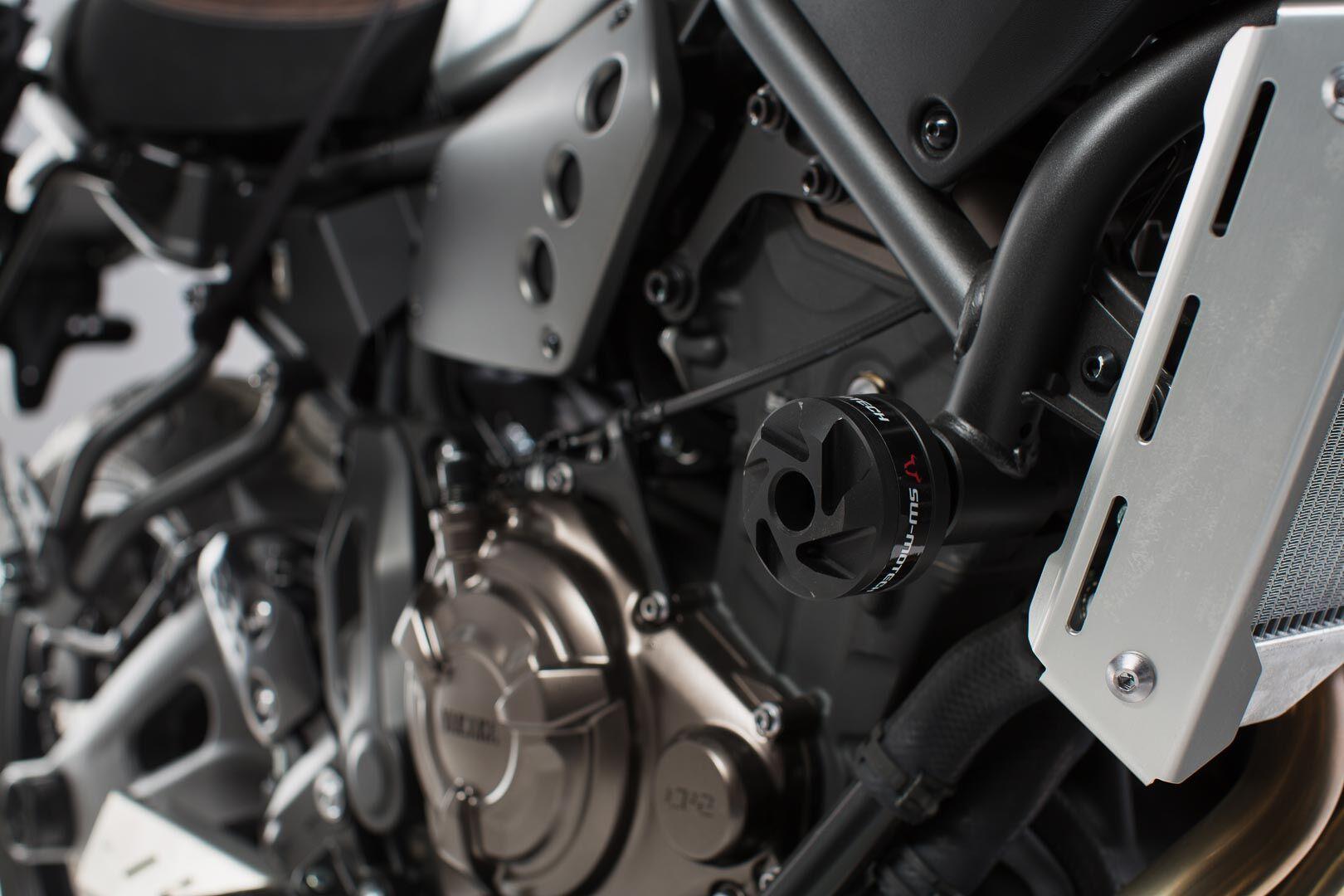 SW-Motech Kit de protectores anticaídas - Negro. Yamaha XSR 700 (16-).