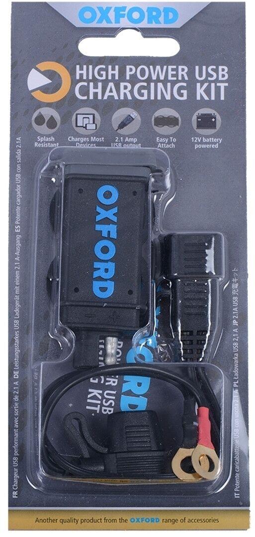 Oxford USB 2.1 Cargador de batería