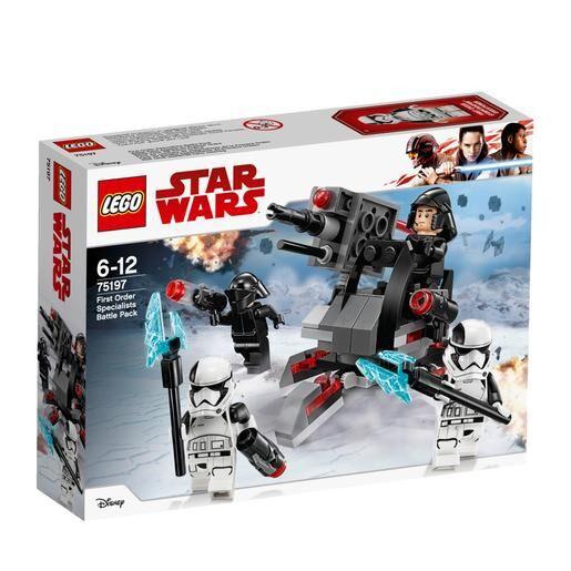 Lego Star Wars - Pack de Combate de Especialistas de la Primera Orden - 75197