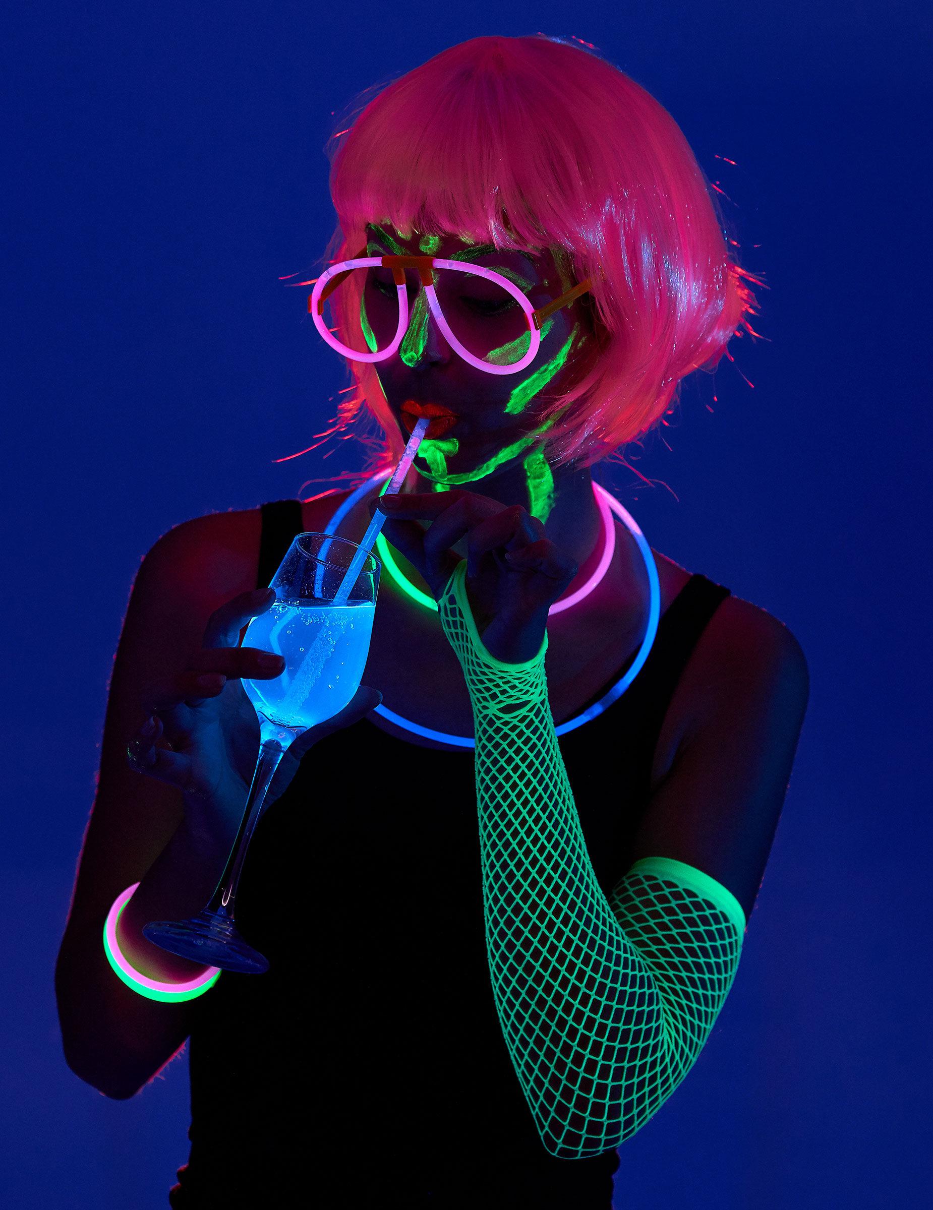 Vegaoo.es Kit fiesta fluorescente 5 personas