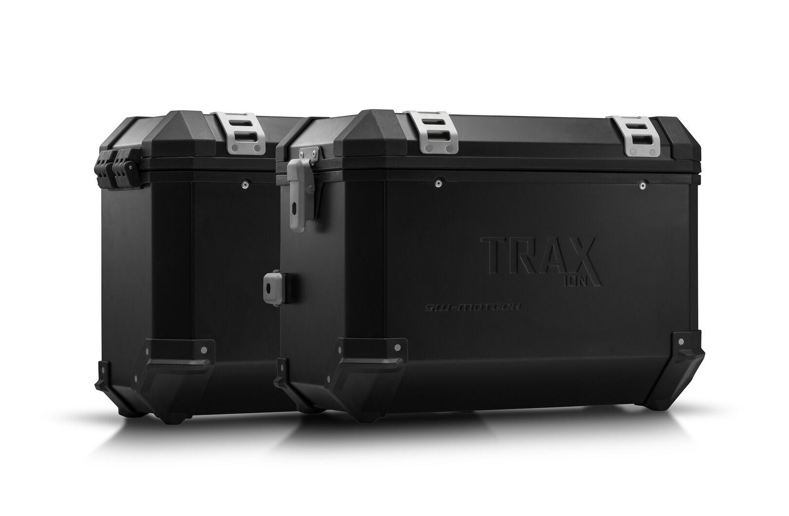 SW-Motech Sistema de maletas TRAX ION - Negro. 45/37 l. BMW F750GS, F850GS/Adv (17-).