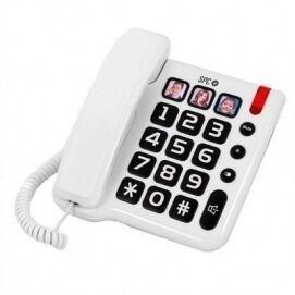 SPC Teléfono Fijo  Comfort Numbers Blanco
