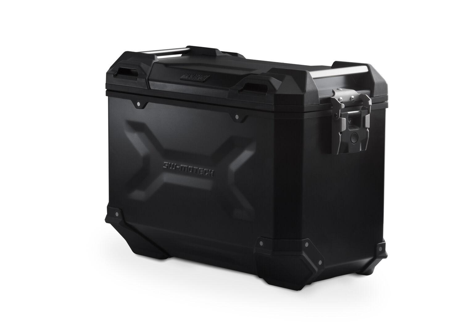 SW-Motech Maleta (Caja) de alumino TRAX ADV L - 45 l. Derecho. Negro.