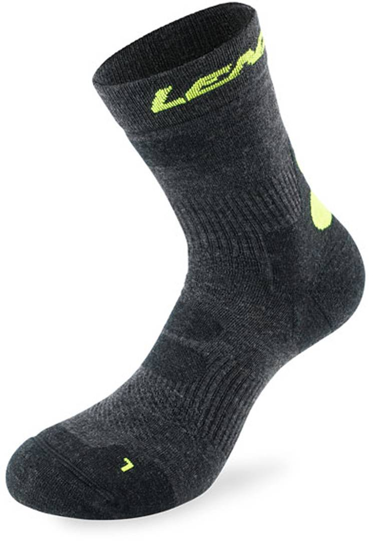 Lenz Trekking 8.1 Socks Calcetines Gris Amarillo 42 43 44