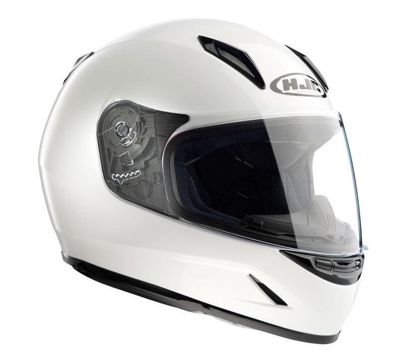 HJC CL-Y Niños casco Blanco S