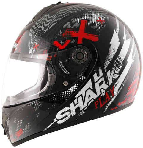 Shark S600 Play Negro/Rojo