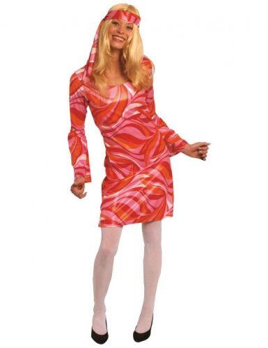 Disfraz hippie años 70 mujer M (40-42)