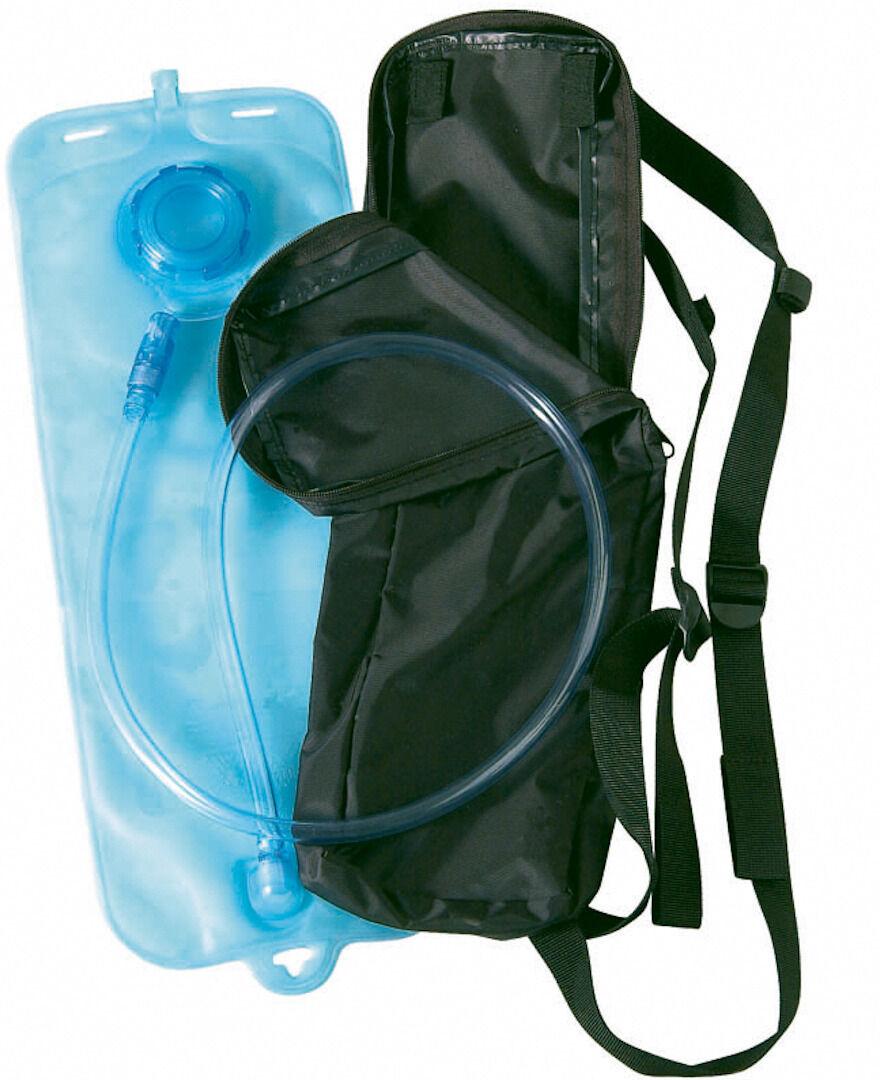 Shot Bolsa de agua y bolsa trasera de nylon Negro 0-5l