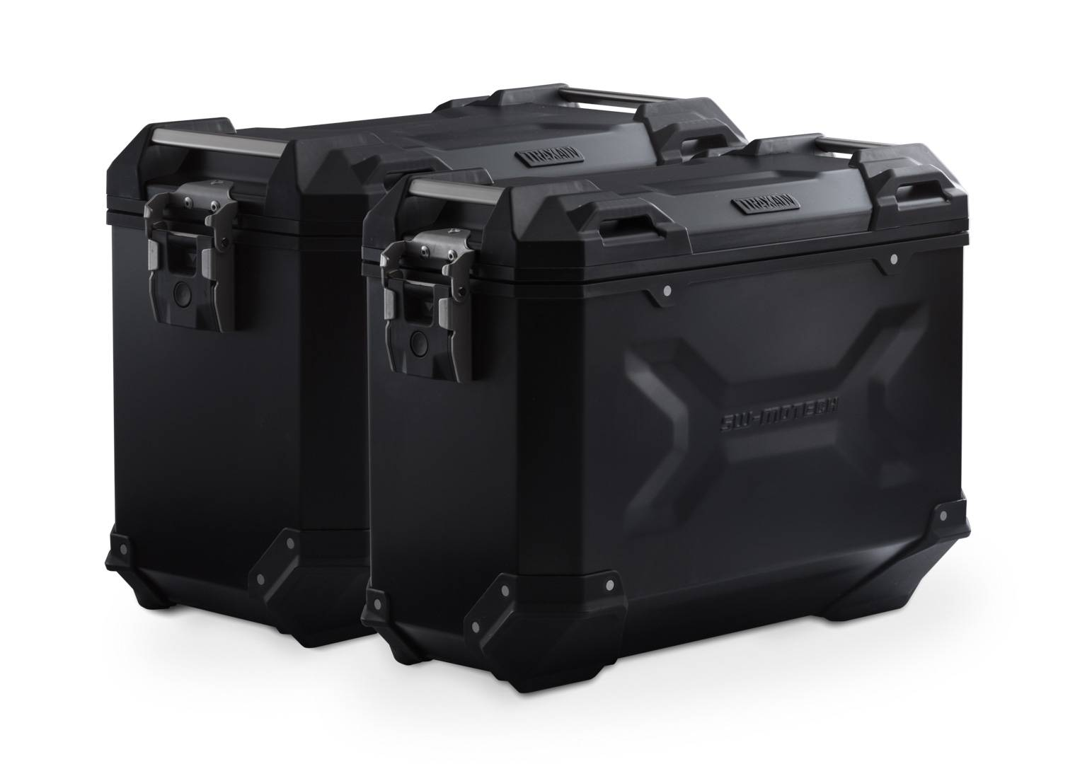 SW-Motech Sistema de maletas TRAX ADV - Negro. 45/37 l. BMW F750GS, F850GS/Adv (17-).