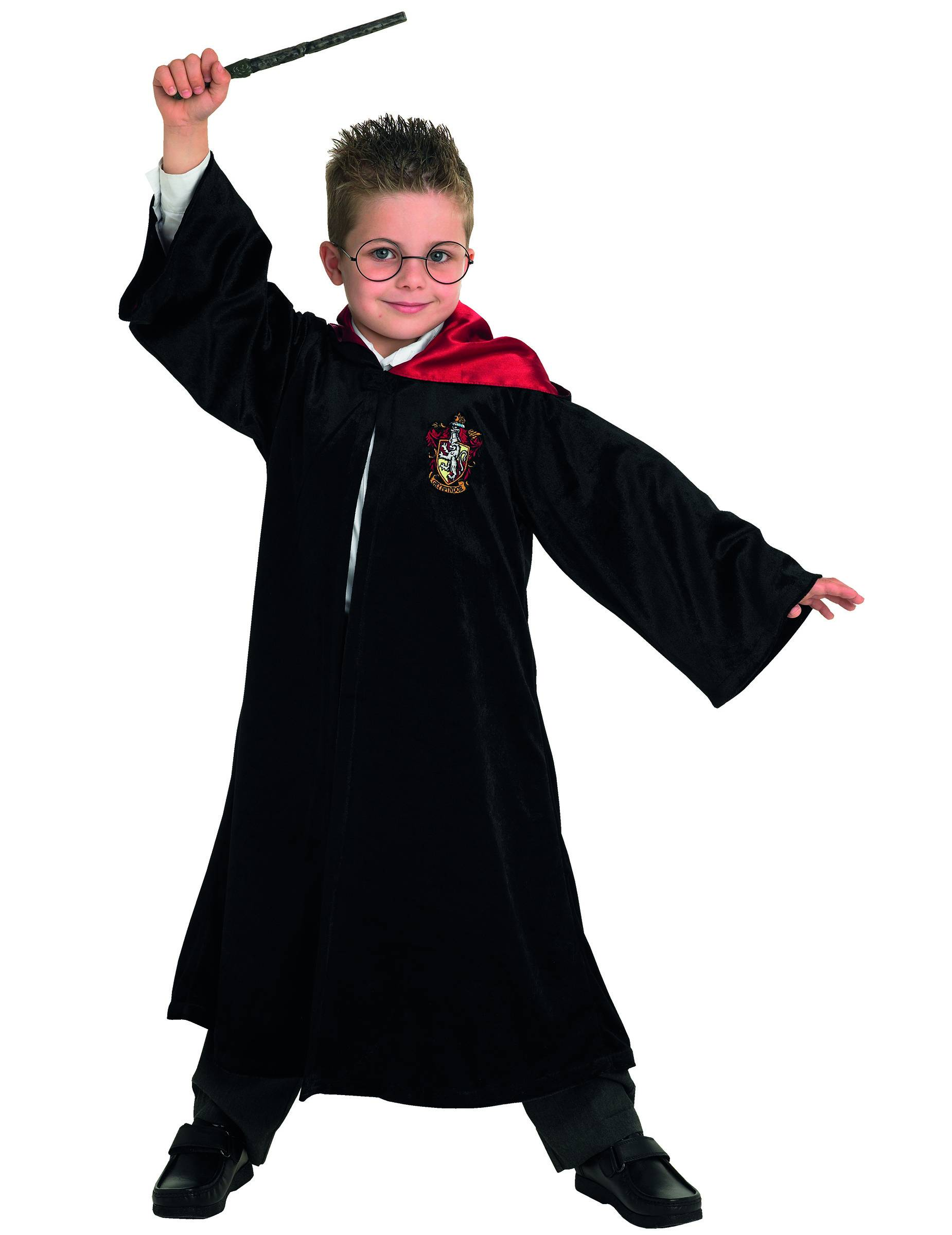 Vegaoo.es Disfraz de Harry Potter de lujo para niño - 7 a 8 años (117 a 128 cm)