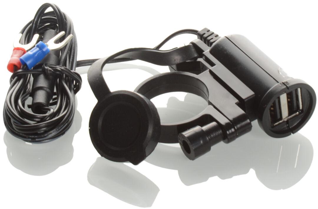 Booster 12/24V Double-USB-Socket 5V /2.1A Negro un tamaño